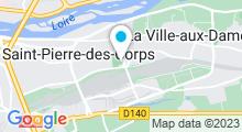 Plan Carte Piscine à St Pierre des Corps