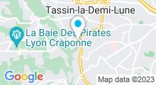Plan Carte Piscine du parc Aquavert à Francheville