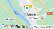 Plan Carte Piscine à Briare