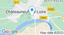 Plan Carte Piscine à Chateauneuf sur Loire