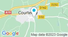 Plan Carte Piscine à Courtenay