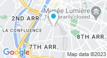 Plan Carte Piscine Benjamin Delessert à Lyon