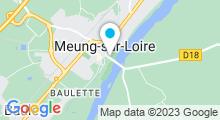 Plan Carte Piscine de Meung sur Loire