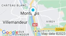 Plan Carte Piscine du Lac à Montargis