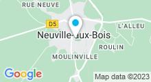 Plan Carte Centre aquanova - Piscine à Neuville aux Bois