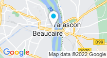 Plan Carte Piscine à Tarascon Beaucaire