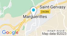 Plan Carte Piscine à Marguerittes