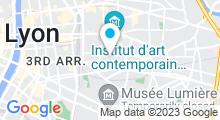 Plan Carte Piscine Charial de Lyon