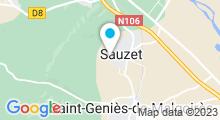 Plan Carte Piscine à Sauzet