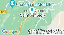 Plan Carte Piscine à Saint Ambroix