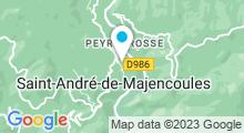 Plan Carte Piscine à Saint Andre de Majencoules