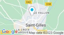 Plan Carte Piscine à Saint Gilles