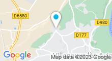 Plan Carte Piscine à Villeneuve les Avignon