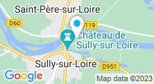 Plan Carte Piscine à Sully sur Loire