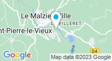 Plan Carte Piscine à Le Malzieu Ville