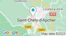 Plan Carte Piscine Atlantie à Saint Chély d'Apcher