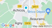 Plan Carte Piscine à Achicourt