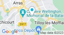 Plan Carte Piscine Elie Desbin à Arras