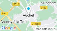Plan Carte Piscine à Auchel