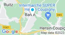 Plan Carte Piscine Le Nautilud à Barlin