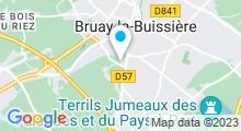 Plan Carte Piscine Salengro à Bruay la Buissière
