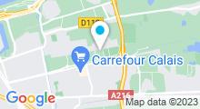 Plan Carte Piscine Icéo à Calais