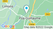 Plan Carte Piscine à Puy Guillaume