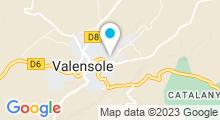 Plan Carte Piscine à Valensole