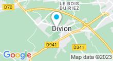Plan Carte Piscine Tournesol à Divion