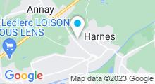 Plan Carte Piscine Marius Leclerc à Harnes