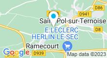 Plan Carte Piscine à Saint Pol sur Ternoise