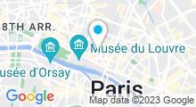 Plan Carte Piscine des Halles - Suzanne Berlioux à Paris (1er)