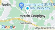 Plan Carte Piscine à Hersin Coupigny