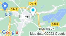 Plan Carte Piscine à Lillers