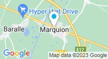 Plan Carte Piscine à Marquion