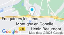 Plan Carte Piscine Jules Verne à Montigny en Gohelle