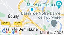 Plan Carte Piscine de Vaise à Lyon