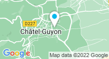 Plan Carte Piscine à Chatel Guyon