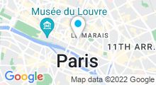 Plan Carte Piscine Saint-Merri / Marie-Marvingt à Paris (4e)