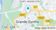 Plan Carte Piscine Léo Lagrange à Grande Synthe