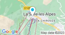 Plan Carte Piscine du Chazelay à La Salle les Alpes