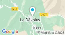 """Plan Carte Piscine """"Le Dévoluy"""" à La Joue du Loup - Saint Etienne en Dévoluy"""