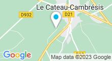 Plan Carte Complexe Aquatique Duo - Piscine à Le Cateau Cambresis
