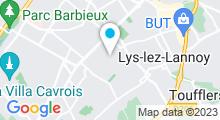 Plan Carte Piscine des Trois Villes à Hem