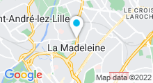 Plan Carte Piscine à La Madeleine