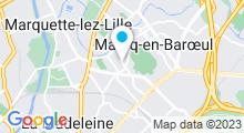Plan Carte Piscine à Marcq en Baroeul
