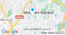 Plan Carte Piscine à Mons en Baroeul