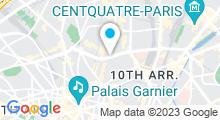 Plan Carte Piscine Georges Drigny à Paris (9e)