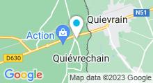 Plan Carte Piscine Ombelia à Quiévrechain
