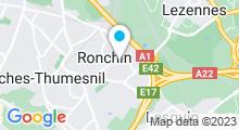 Plan Carte Piscine à Ronchin